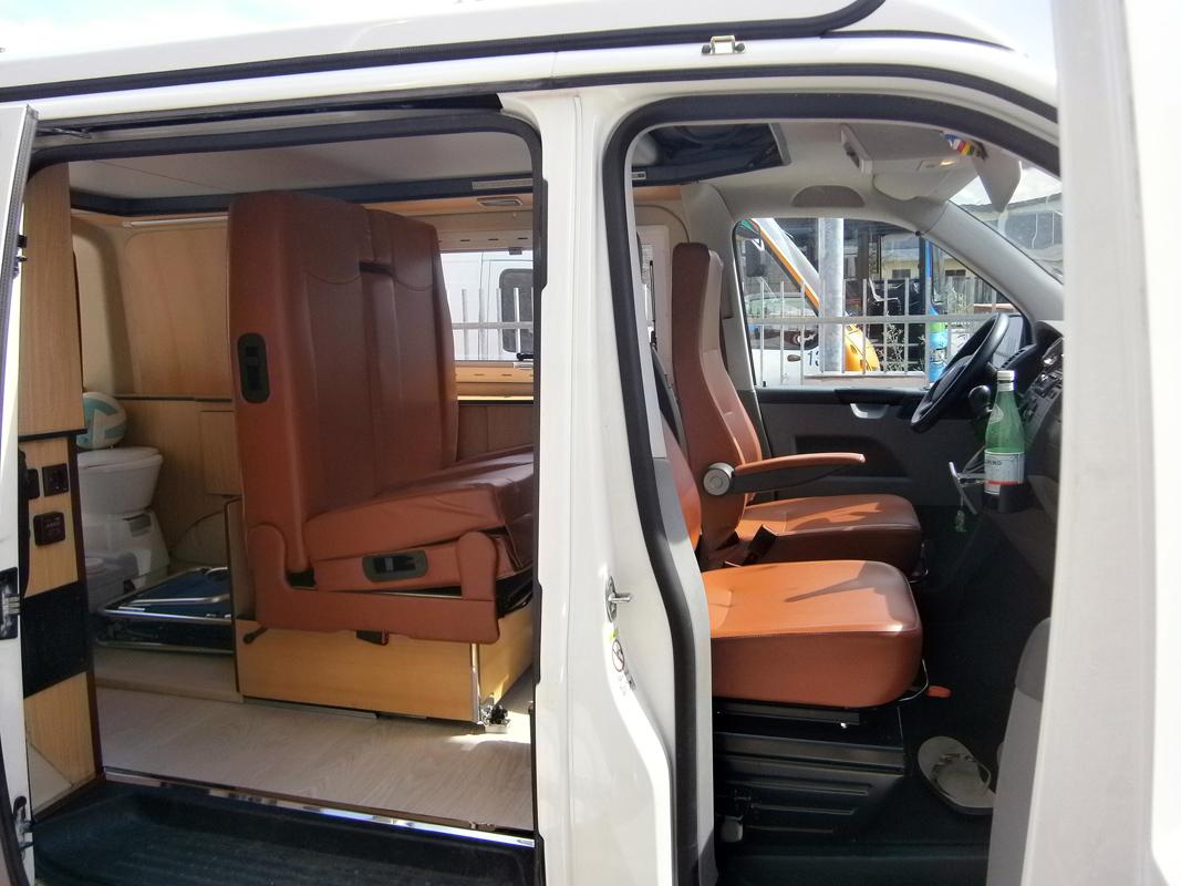 kit per camperizzare un furgone