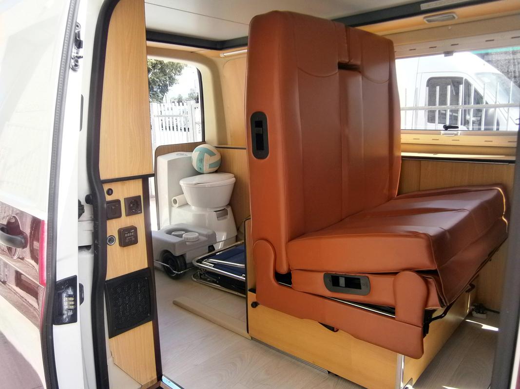 Camperizzare un furgone trasformare furgone in camper - Pronto letto camper ...